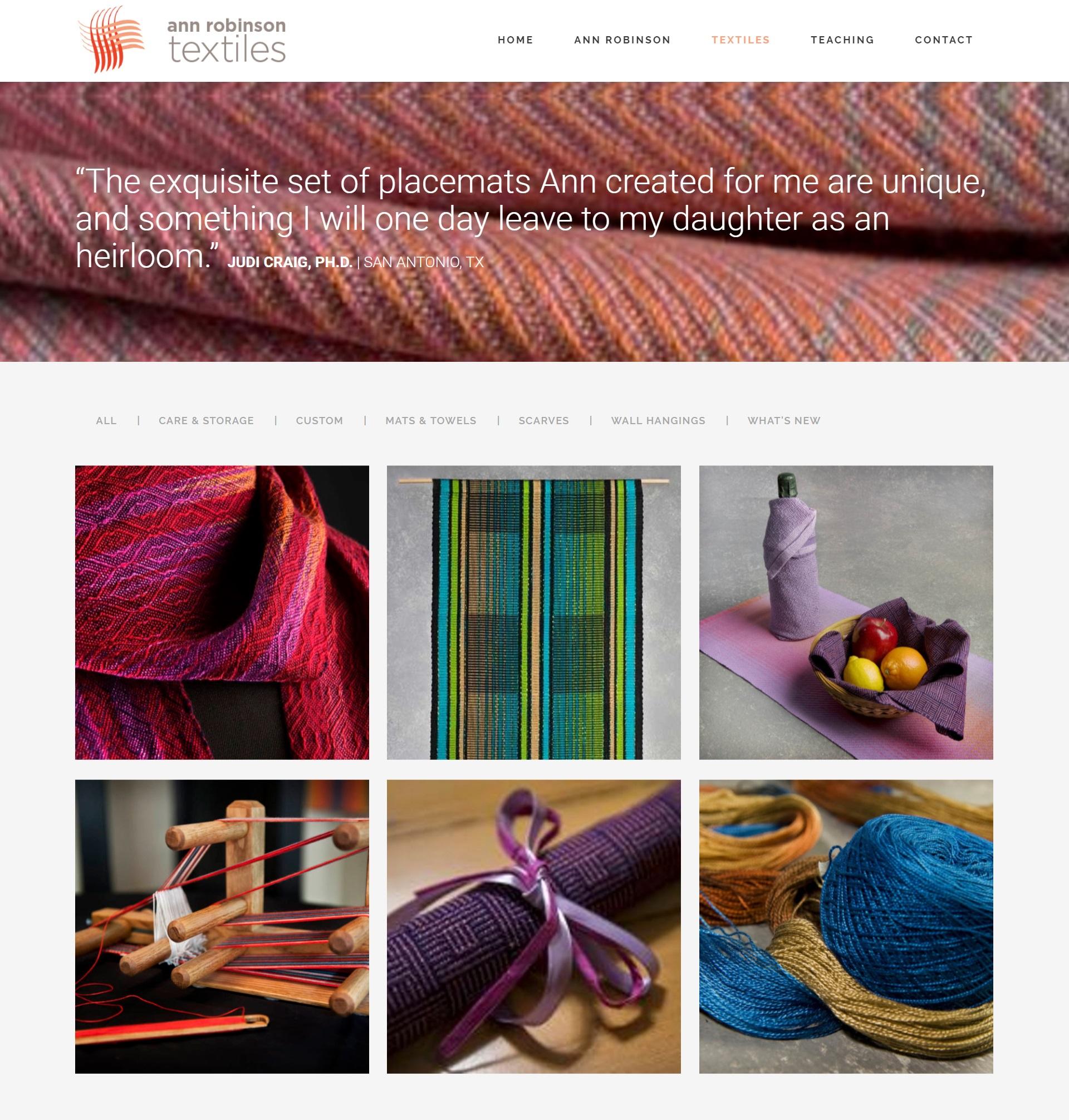 Ann Robinson Textiles