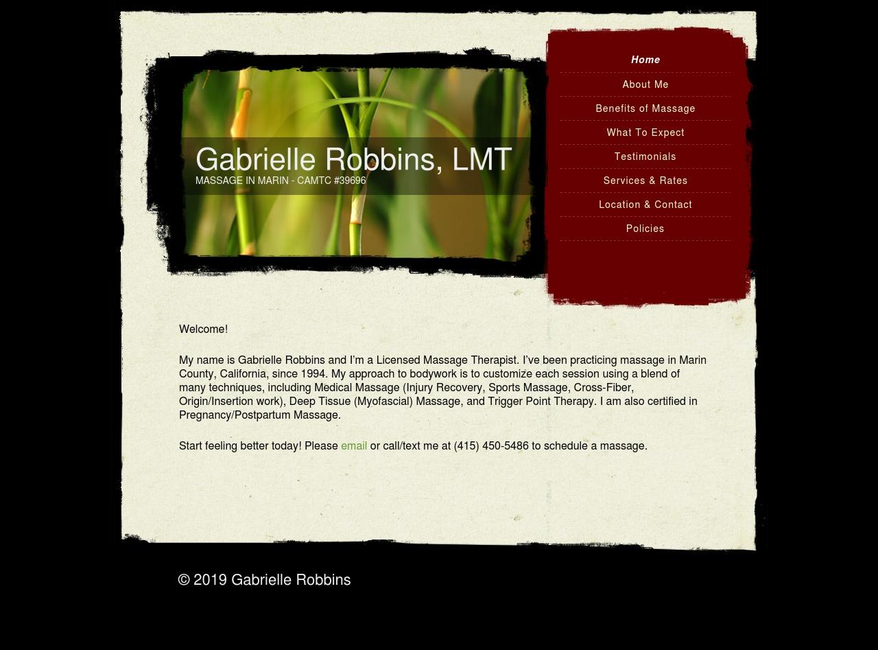 Gabrielle Robbins
