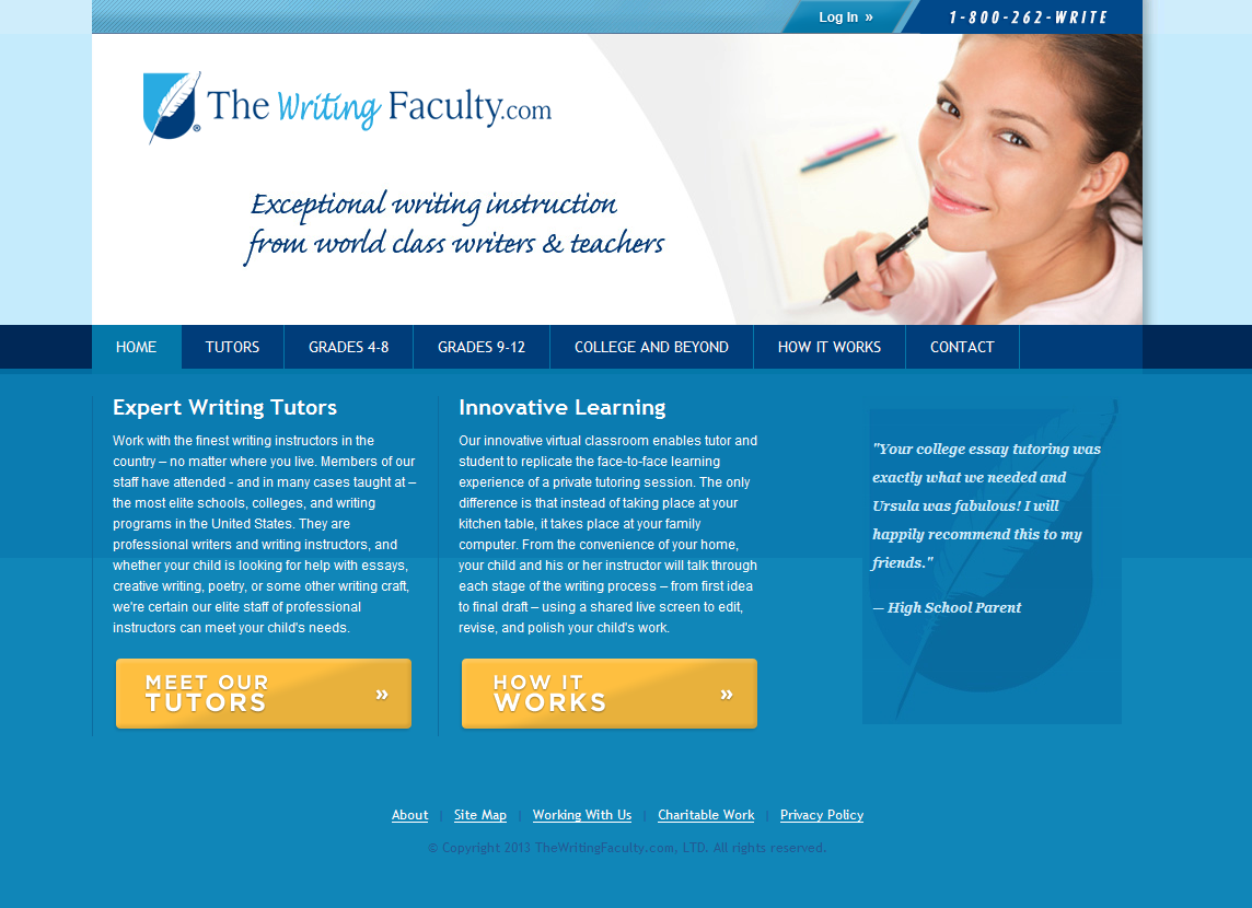 Writing Faculty